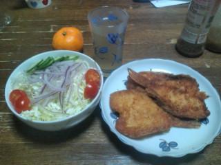 晩御飯!!